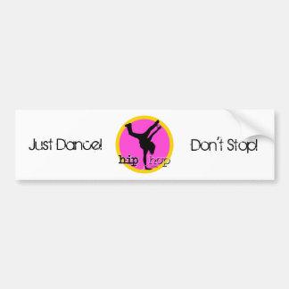 HIP HOP Dance moves Bumper Sticker