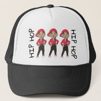 Hip Hop Dance Team Girl Dancer Hiphop Class Trucker Hat
