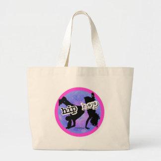 HIP HOP Dancer Canvas Bags