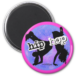 HIP HOP Dancer Fridge Magnet