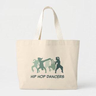 Hip Hop Dancers Illustration Tote Bag