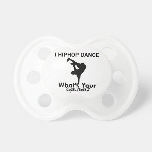 Hip Hop dancing designs Pacifiers
