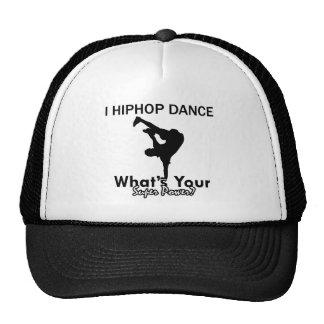 Hip Hop dancing designs Hats