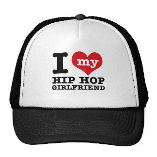 Hip Hop dancing Girlfriend designs Cap