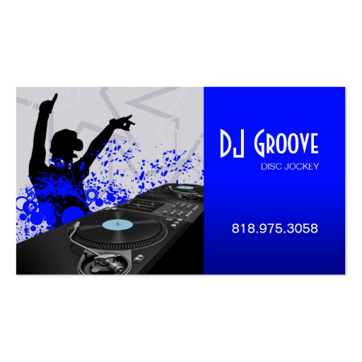 Create your own dj business cards page2 for Dj business card templates free