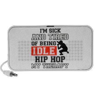 Hip hop design travelling speaker