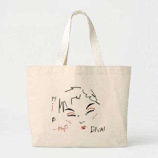 Hip-Hop Diva Jumbo Tote Bag