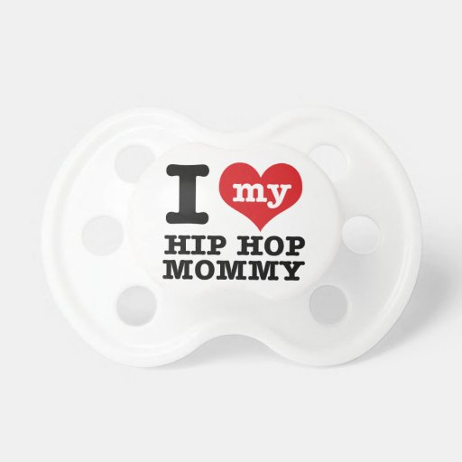Hip Hop Girlfriend Baby Pacifiers