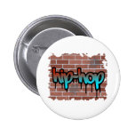 hip hop graffiti  design badge