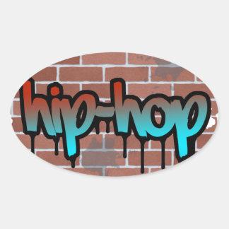 hip hop graffiti  design stickers