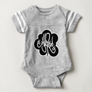 hip hop graffiti  music baby bodysuit