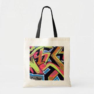 Hip Hop Graffiti Personalized Budget Tote Bag