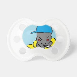 Hip hop head pacifier