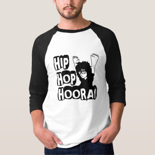 Hip Hop Hooray-Men's Wear Jersey T-Shirt