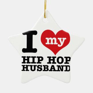 Hip hop Husband Ceramic Star Decoration