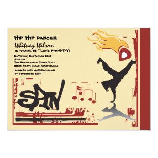 Hip Hop Invitation