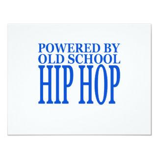 HIP HOP 4.25X5.5 PAPER INVITATION CARD