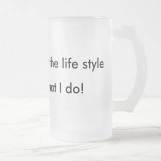 Hip Hop , is the life style, Rap , is what I do! Coffee Mug