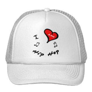 Hip Hop Items - I Heart Hip Hop Mesh Hats