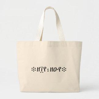 HIP HOP JUMBO TOTE BAG