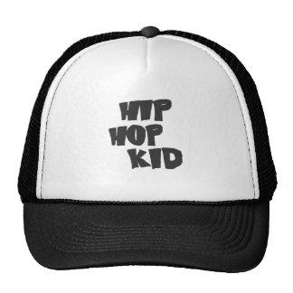 Hip hop kid mesh hats