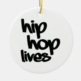 Hip Hop Lives Christmas Ornament