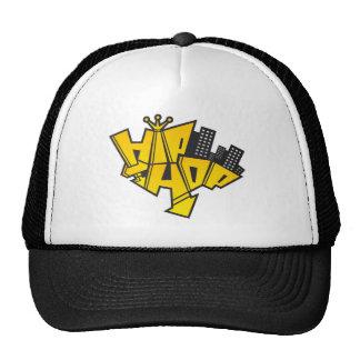 Hip-hop logo cap
