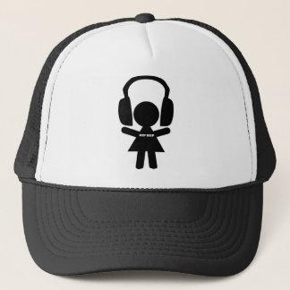 Hip Hop Music, Headphones, Hip-Hop Love Trucker Hat