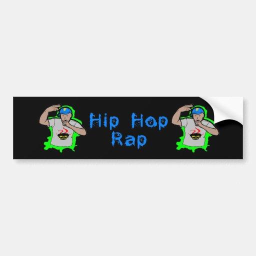 Hip Hop Rap 1 Bumper Sticker