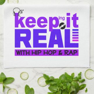 HIP HOP & RAP kitchen towel