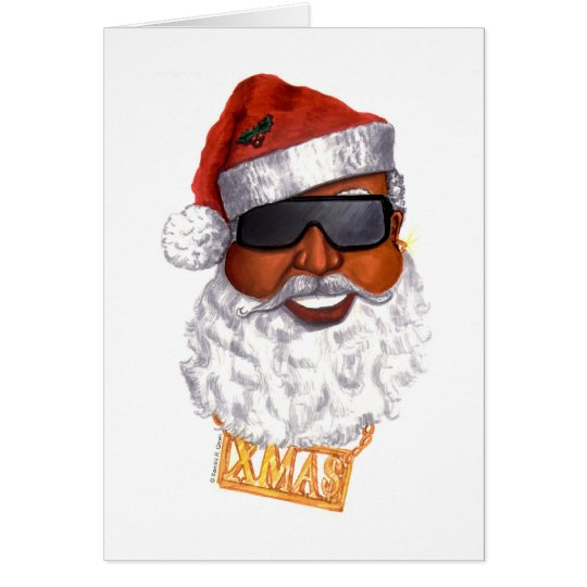 Hip Hop Santa Card