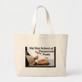 HIP HOP SCHOOL OF PARANORMAL POETS CANVAS BAGS