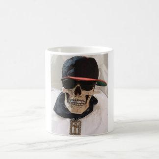 Hip Hop Skull w/Bling Coffee Mug