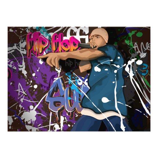 Hip Hop Star Personalized Announcement