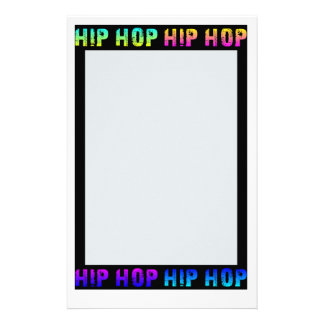 Hip Hop stationary, customize Stationery Paper