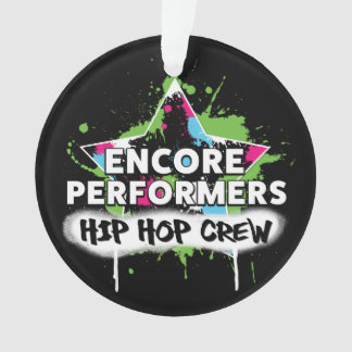 Hip Hop TEAM Ornament ACRYLIC