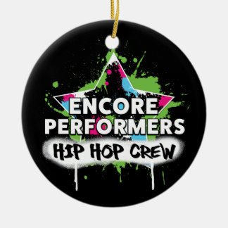 Hip Hop TEAM Ornament PORCELAIN