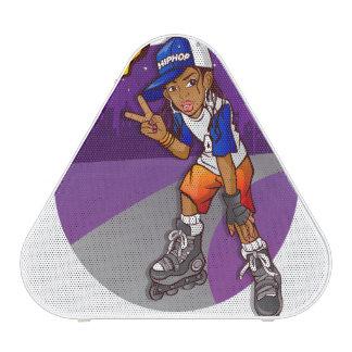Hip Hop Teenage Skater Cartoon