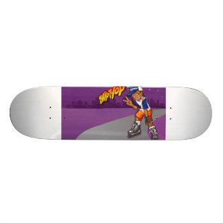 Hip Hop Teenage Skater Cartoon 21.6 Cm Old School Skateboard Deck