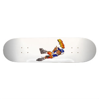Hip Hop Teenage Skater Cartoon 18.1 Cm Old School Skateboard Deck