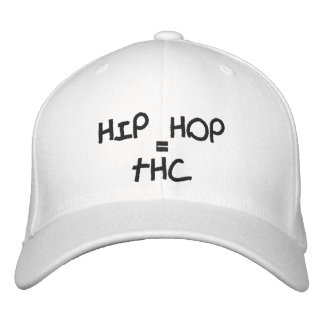HIP HOP, =, THC EMBROIDERED HAT