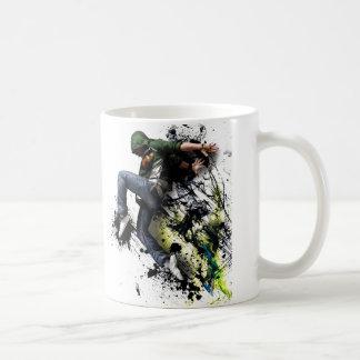 Hip hop to dancer basic white mug