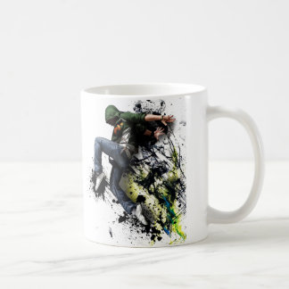 Hip hop to dancer coffee mug