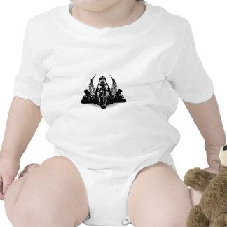 Hip-hop Baby Bodysuits