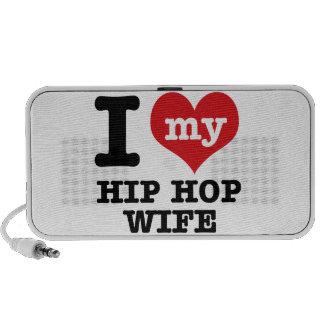 hip hop wife iPhone speakers