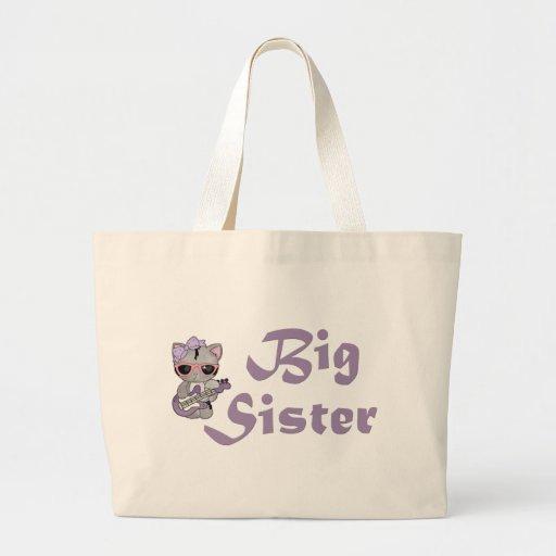 Hip Kitty Big Sister 3 Canvas Bag