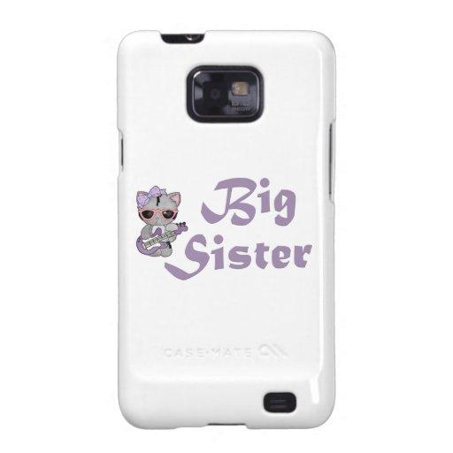 Hip Kitty Big Sister 3 Galaxy S2 Cover