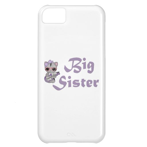 Hip Kitty Big Sister 3 iPhone 5C Cases