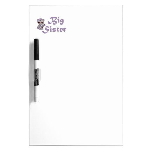 Hip Kitty Big Sister 3 Dry-Erase Boards