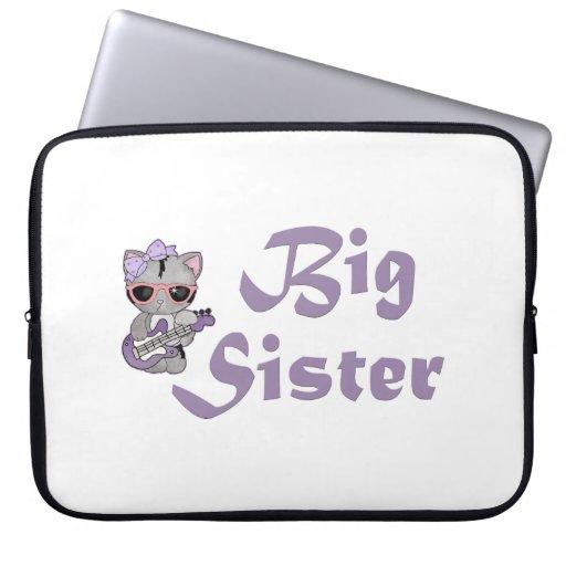 Hip Kitty Big Sister 3 Computer Sleeve